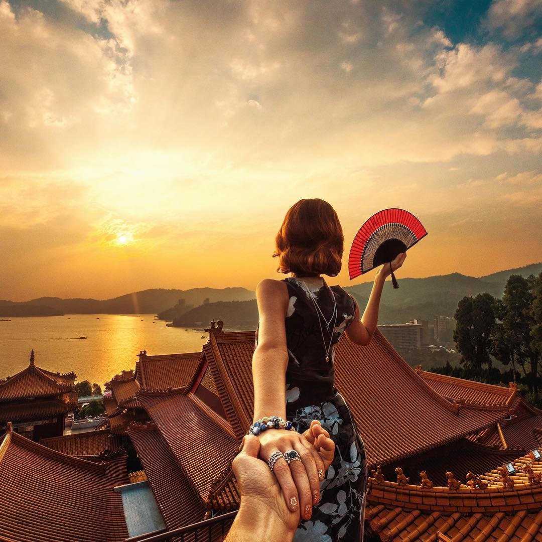Nắm tay anh cùng đón bình minh ở Đài Loan