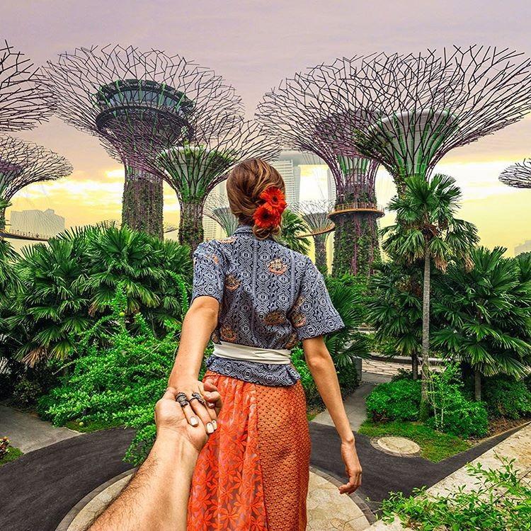 Dạo công viên ở Singapore