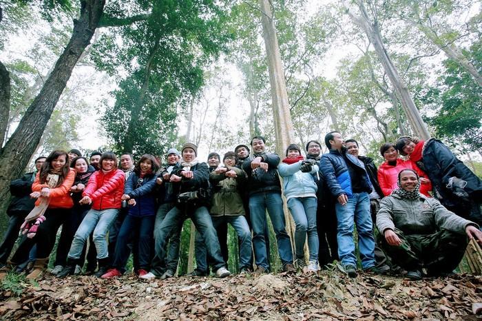 Du lịch có trách nhiệm để bảo vệ rừng săng lẻ nhé