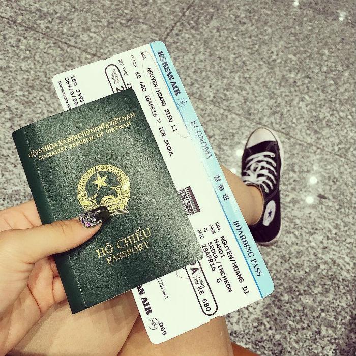 Chỉ cần đăng ảnh hộ chiếu