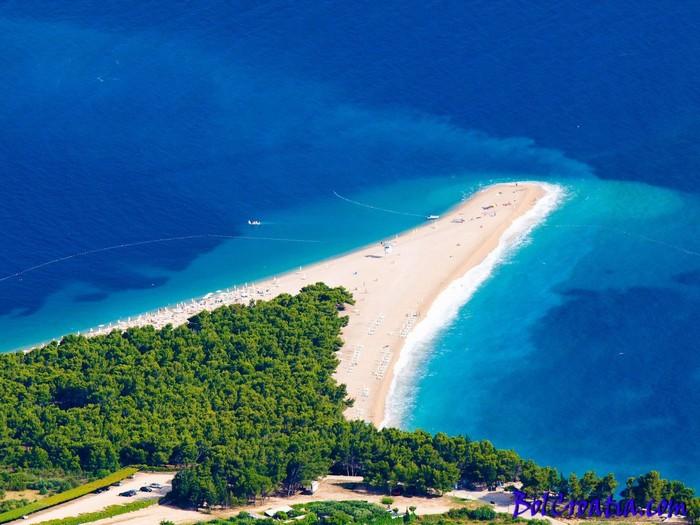 Bờ biển xinh đẹp nhất Croatia - Zlatni Rat