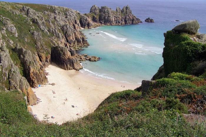 Anh Quốc tự hào khi sở hữu Porthcurno, Cornwall