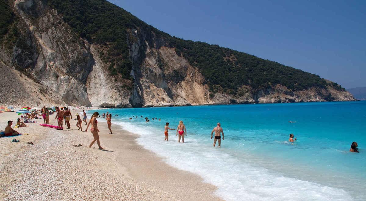 Bãi biển nổi tiếng nhất Hy Lạp