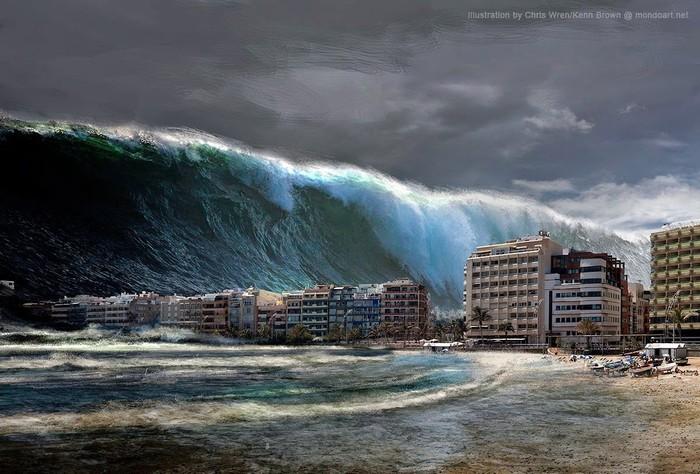 Thảm họa thiên nhiên có thể rình rập bất kỳ đâu