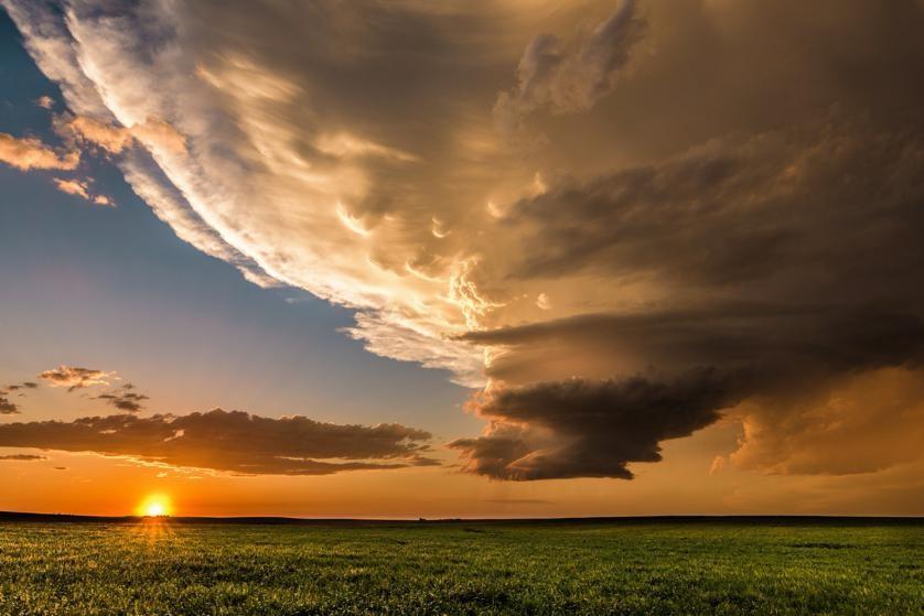 Cảnh sau bão
