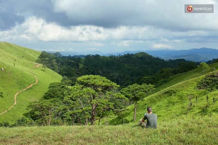Khung cảnh miễn chê mỗi khi leo được tới đỉnh đồi