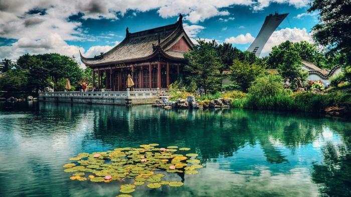 Vườn Bách Thảo Montreal còn chứa đưng trong khuôn viên rộng lớn của mình một vườn Trung Hoa lớn nhất bên ngoài lãnh thổ Trung Quốc
