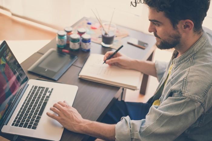Những công việc sáng tạo đòi hỏi sự linh động về giờ giấc và nơi làm việc