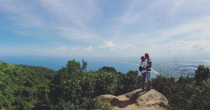 Tình yêu trên đỉnh Bàn Cờ- Ảnh: nanaa.0810