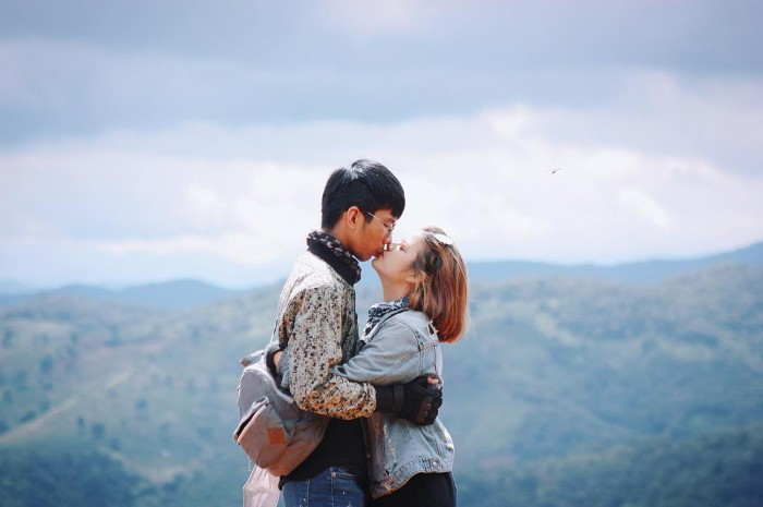 Đà Lạt ta và nàng- Ảnh: nganthaogiang