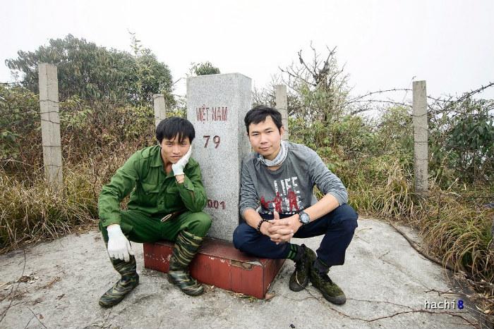 Cột mốc biên giới 79 cao nhất nước ta