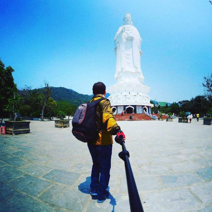 Ghé thăm chùa Linh Ứng
