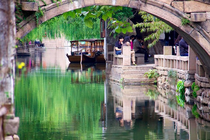Châu Trang được ví như Venice phương Đông