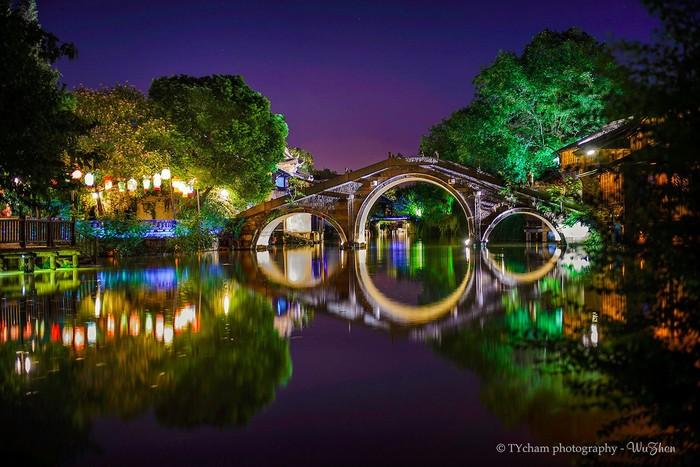 Thành cổ trung tâm của 6 trấn xưa tỉnh Chiết Giang