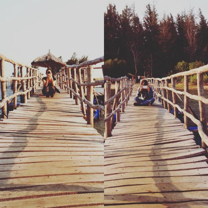 Check in ở cây cầu giữa biển