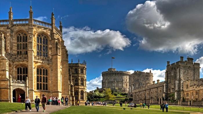 Lâu đài cổ kính Windsor