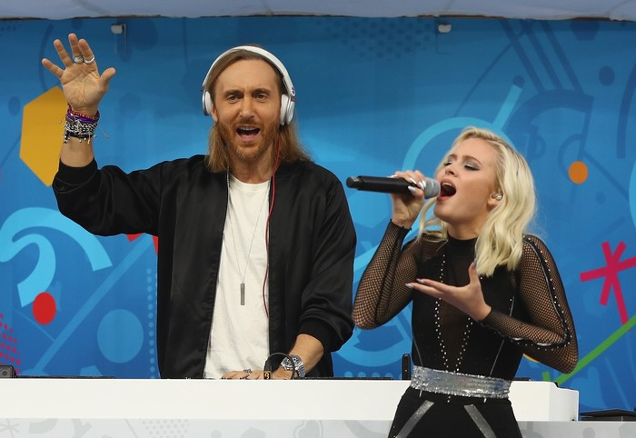David Guetta song ca cùng nữ ca sỹ Thụy Điển Larsson