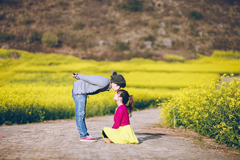La Bình - điểm hẹn mùa xuân lưu giữ những khoảnh khắc ngọt ngào, lãng man bên nhau