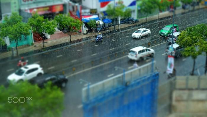 Sài Gòn mưa, mát rượi một 'mùa thu' lạ