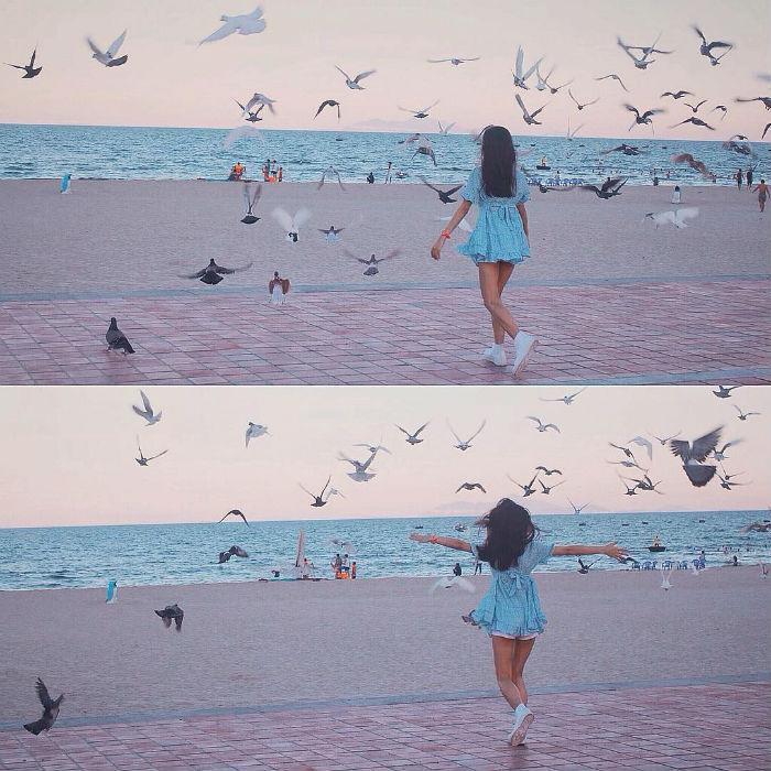 Hòa mình theo cánh chim tung bay