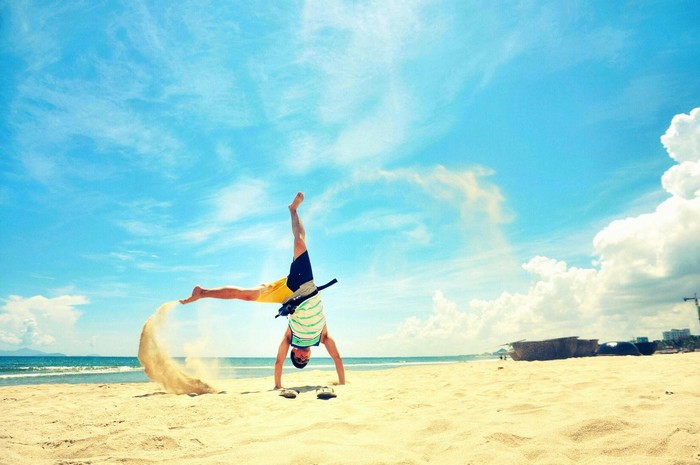 Đà Nẵng – biển xanh nắng vàng