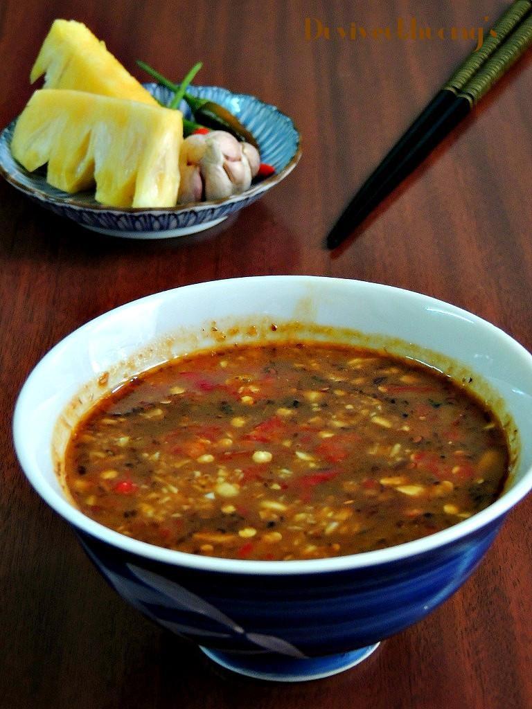 Chén mắm nêm – thành phần không thể thiếu trong nhiều bữa ăn