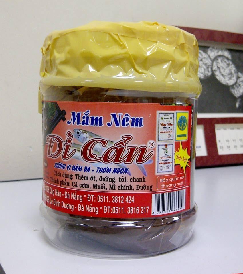 Mắm nêm Dì Cẩn – một trong những thương hiệu mắm nêm hàng đầu tại Đà Nẵng