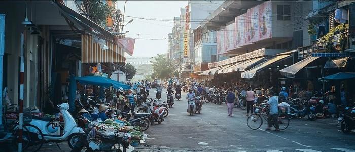 Một góc chợ Hàn