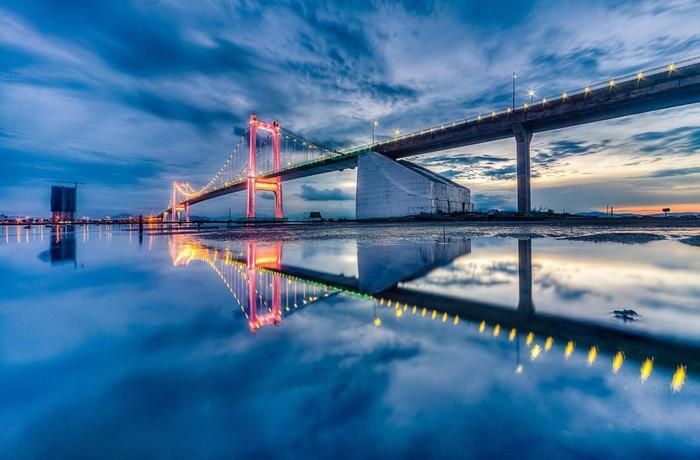 Cầu Thuận Phước – cánh chim vươn biển lớn