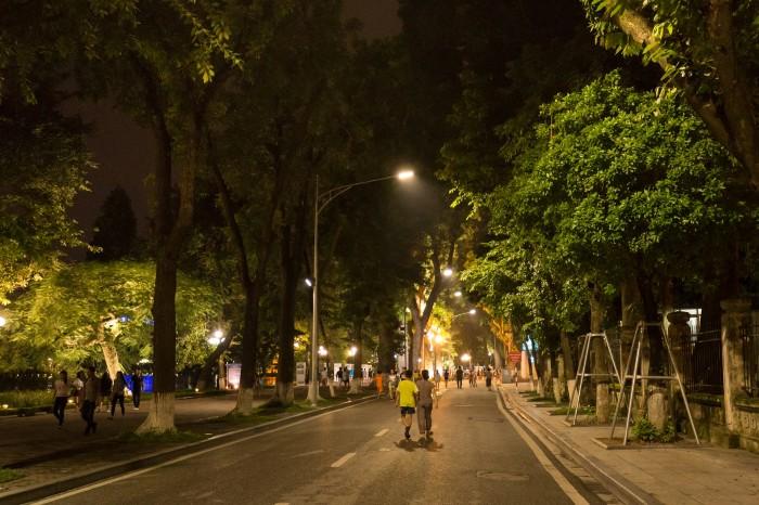 Phố đi bộ Hà Nội - Ảnh: Duy Hùng