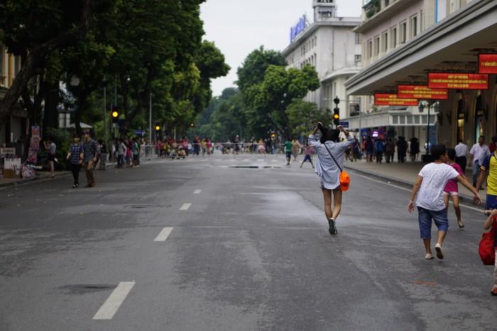Hàng Bài - một trong những điểm bắt đầu phố đi Bộ - Ảnh: Phúc Nguyễn