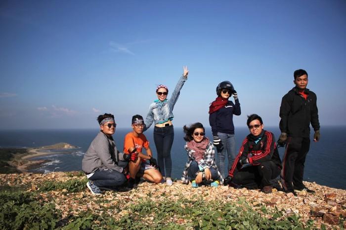 Phượt ngay đến Mũi Yến - Ảnh: Kim Lộc