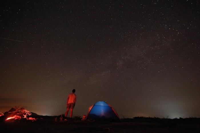 Tưởng chừng như có cả dải ngân hà trong tầm tay - Ảnh: Tâm Bùi, Thiết Nguyễn
