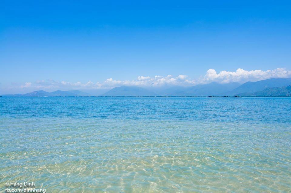 Làn nước mát tuyệt vời cho tắm biển