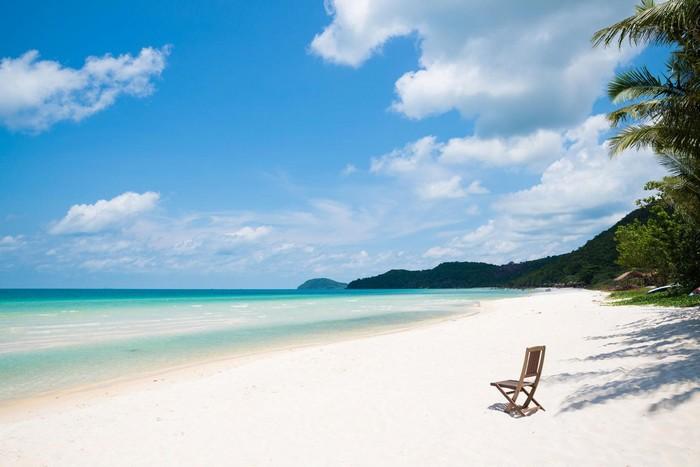 Cảnh biển thơ mộng hữu tình