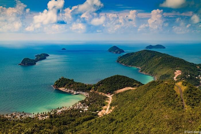 Nam Du có thật nhiều bãi biển thơ mộng