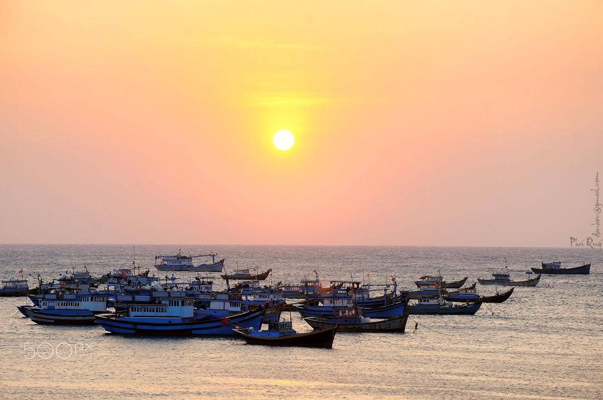 Khung cảnh ngoạn mục của cuộc sống ngư dân và biển cả