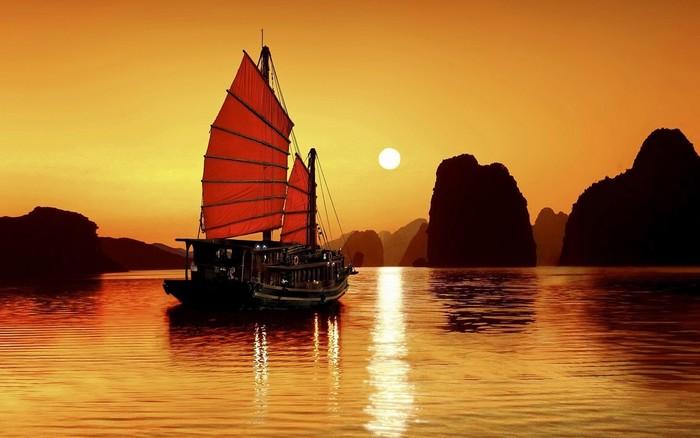 Những khung cảnh mặt trời mọc bao giờ cũng khiến bạn cảm thấy bình yên