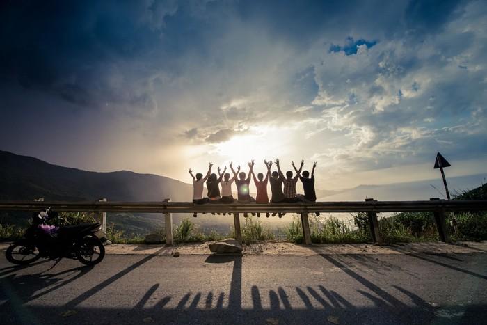 Đặt chân tới Đà Nẵng, bạn có thể thuê những chiếc xe máy để thoải mái thăm thú