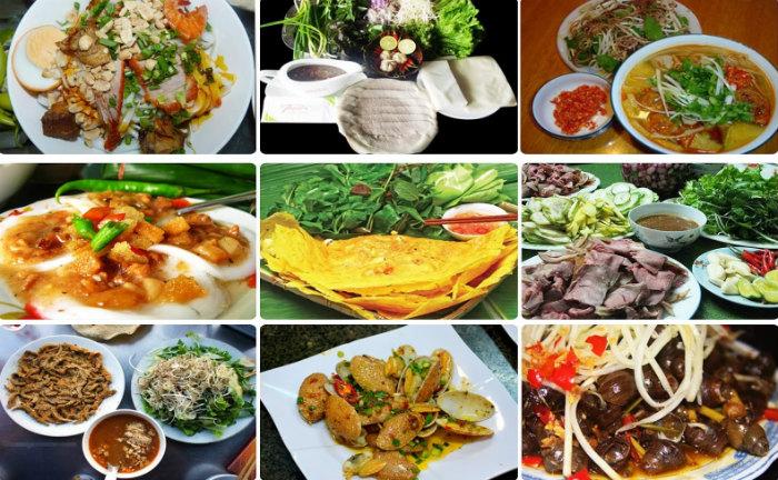 Những món ăn mang đủ đầy phong vị của mảnh đất miền Trung