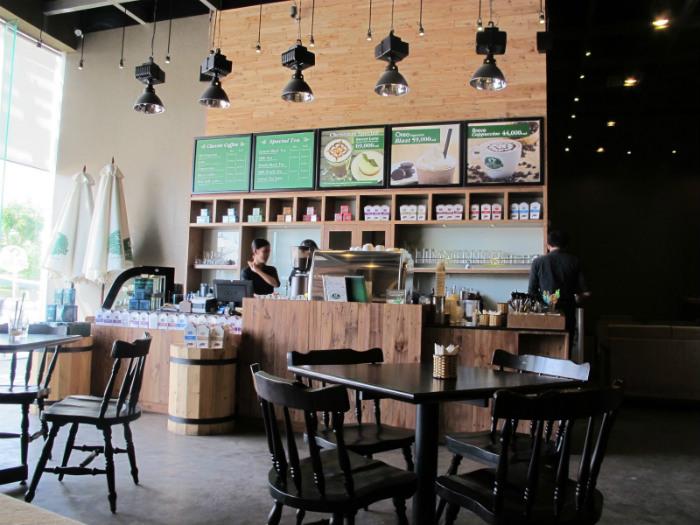 Chi nhánh của Phúc Long coffee and tea house ở quận 7
