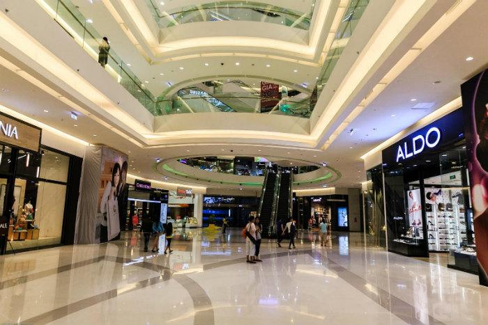 Trung tâm thương mại Crescent Mall ở quận 7