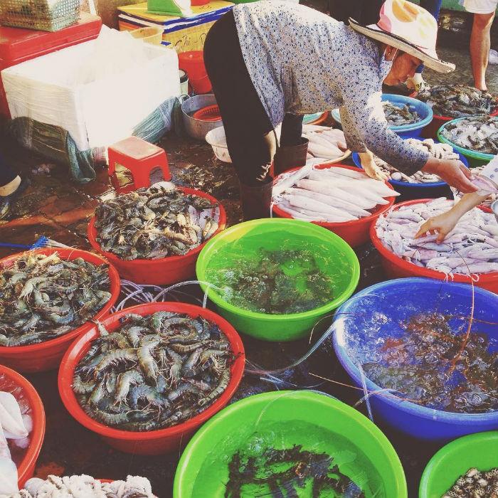 Thiên đường xóm cá Chợ Lưới