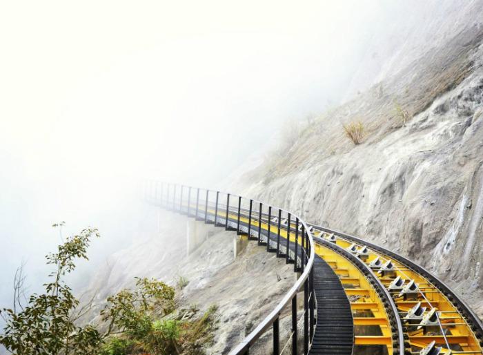 Quay ngược thời gian với hành trình Tàu hỏa leo núi