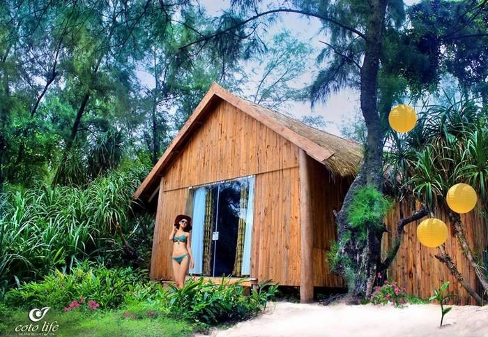Những bungalow giữa rừng nguyên sinh Cô Tô