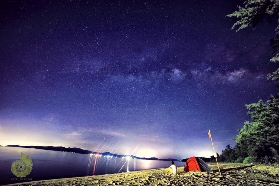 Bầu trời đầy sao tại Eco Lodge Cô Tô