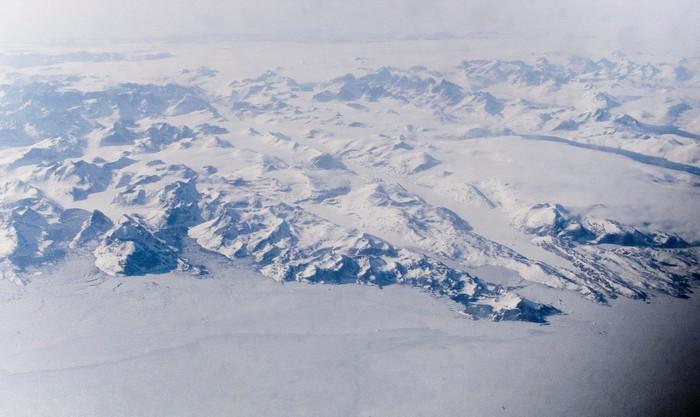 Quanh năm Greenland chỉ toàn băng tuyết
