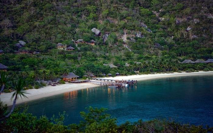 Những resort có địa điểm vàng về phong thủy - Ảnh: sưu tầm