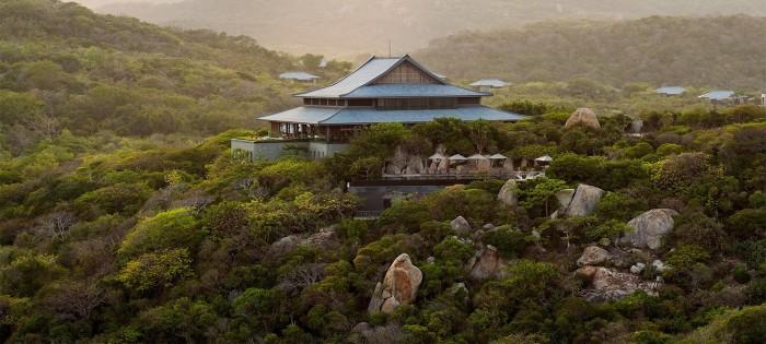 Amanoi Ninh Thuận ẩn mình trong núi Chúa - Ảnh: Amanoi