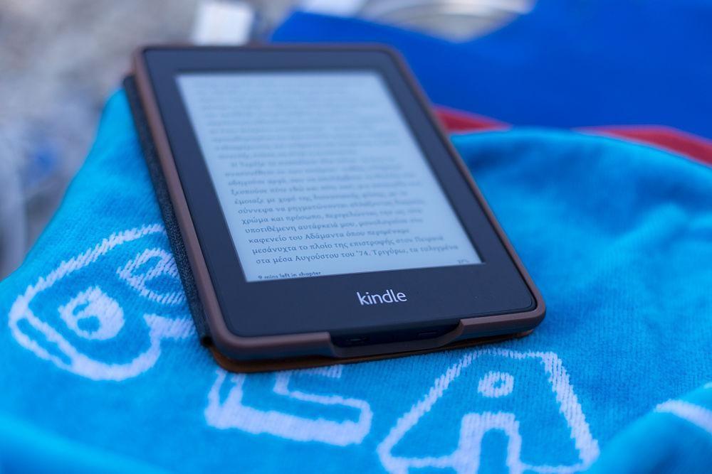 Ebook là một sự thay thế không tồi cho sách giấy khi đi du lịch